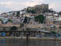 Άποψη της παλιάς πόλης της Καβάλας