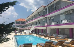 Philoxenia Evgenia - Hotel in Paralia Vrasna - Vrasna Beach - Rent Rooms - www.strymonikos.net