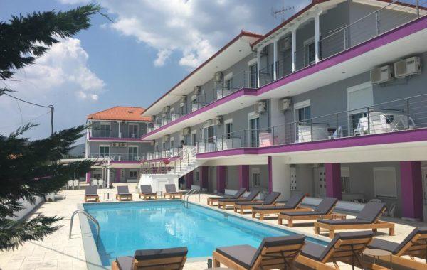 Philoxenia Evgenia - Hotel in Paralia Vrasna - Vrasna Beach - Rent Rooms - www.strymonikos.net