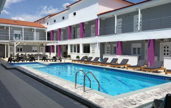 Philoxenia Earia - Hotel in Paralia Vrasna - Vrasna Beach - Rent Rooms - www.strymonikos.net