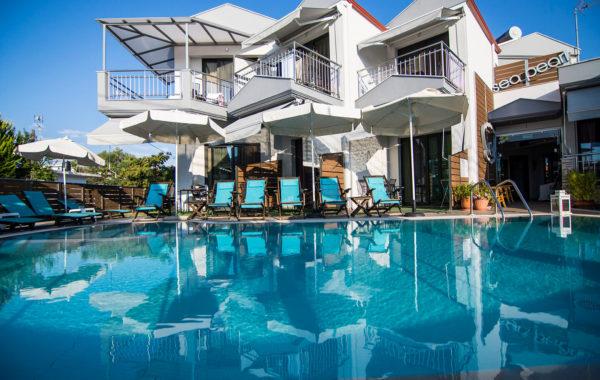 Sea Pearl - Studios-Apartments-Rent-Rooms at Nea Vrasna