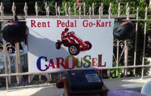 Carousel Bikes Asprovalta Rental Pedal Go-Kart